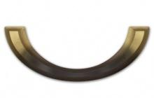 Sargbeschlag twaylen® gold bronziert lackiert