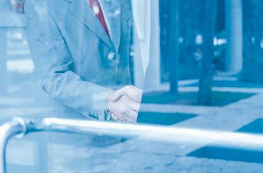 Gustav Michel, Partner der Sargindustrie
