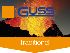 Guss-Sarggriffe Traditionell