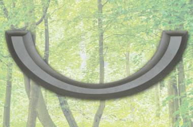 Sarggriff twaylen 230/5065 zinnfarbig